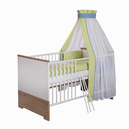 SCHARDT Lit bébé évolutif ECO PLUS 70 x 140 cm couleurs bois, blanc