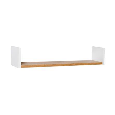 SCHARDT Mensola da parete ECO PLUS legno naturale / bianco