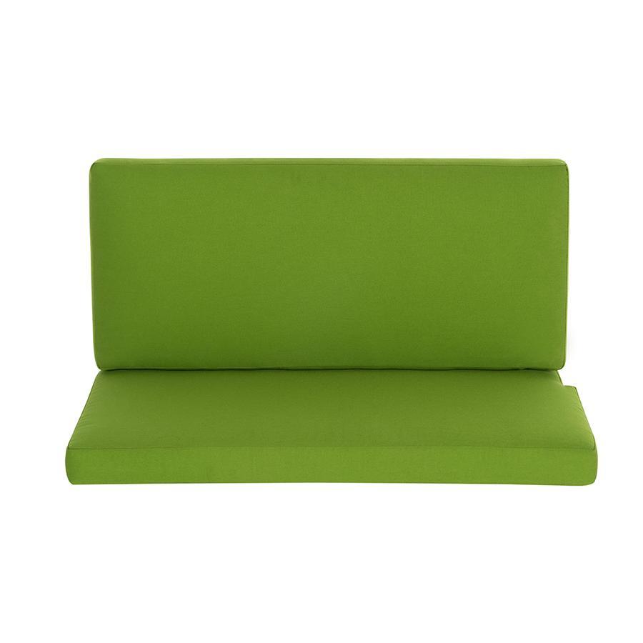 Schardt Zit- en rugkussen groen, voor kast-commode Holly