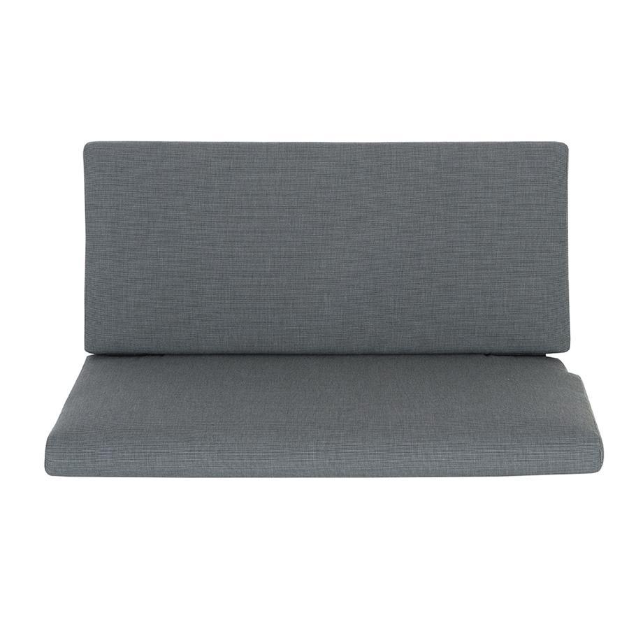 SCHARDT Cuscino e spalliera per panca - grigio HOLLY NATURE