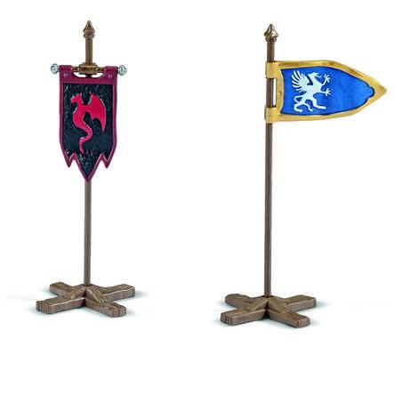 Schleich Figurine kit de drapeaux 42149