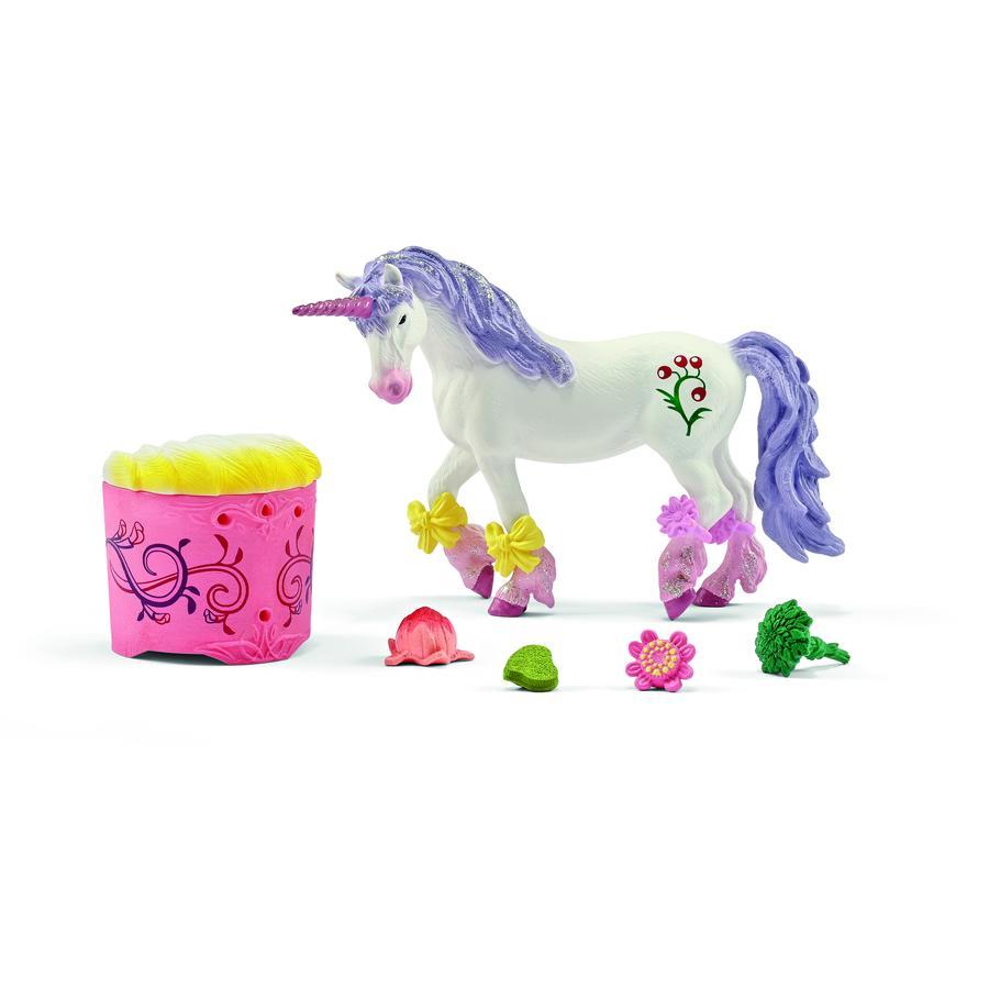 Schleich Figurine kit soin et nourriture pour licorne et Pégase 42173