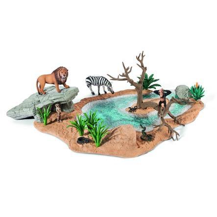 SCHLEICH Wild Life, Vodní laguna 42258