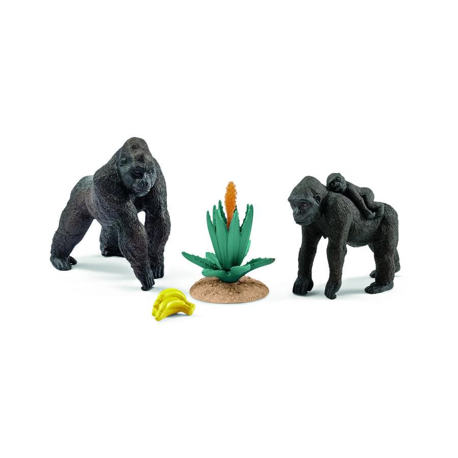 SCHLEICH Gorillafamilj 42276
