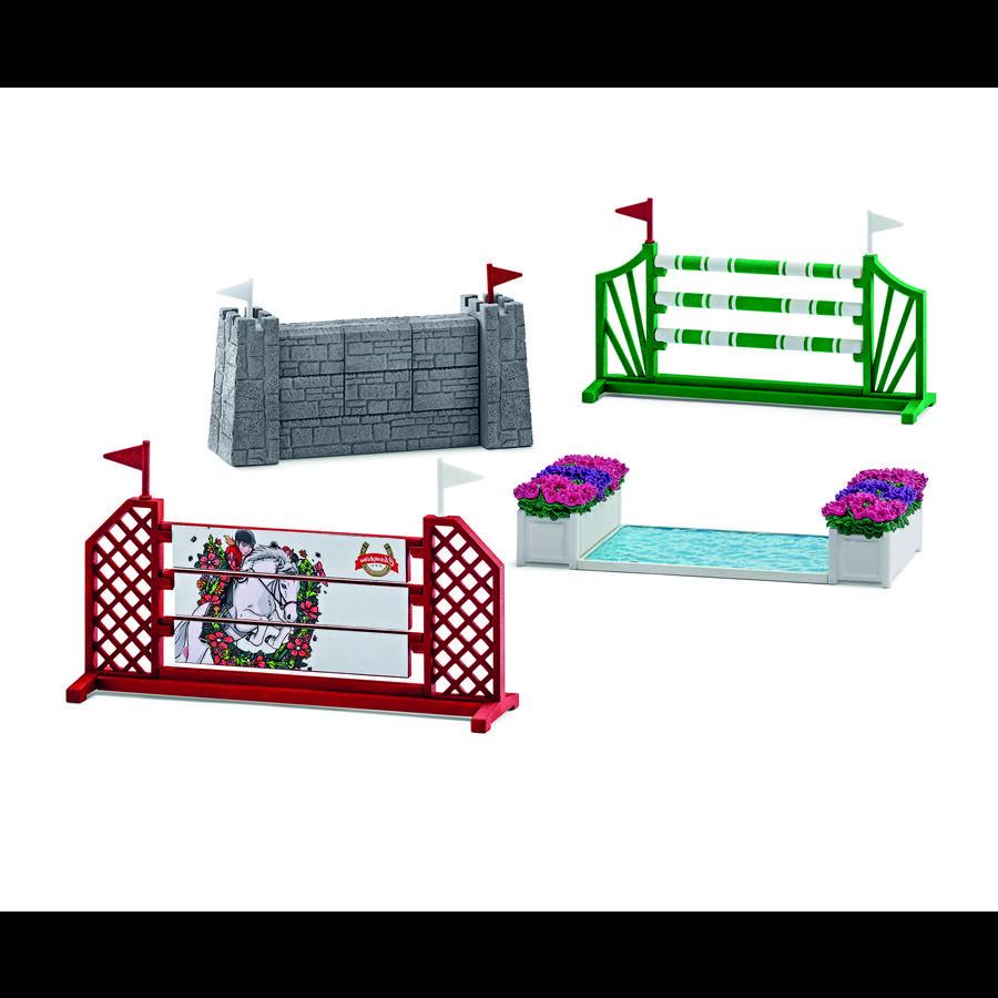 SCHLEICH Parcours de saut d'obstacles 42271