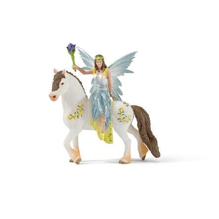 SCHLEICH Eyela in abito da festa, a cavallo 70516