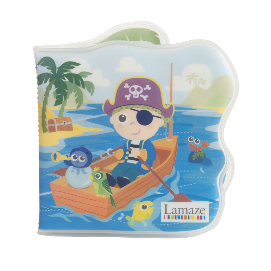 Lamaze® Badbok, Piraten Pete