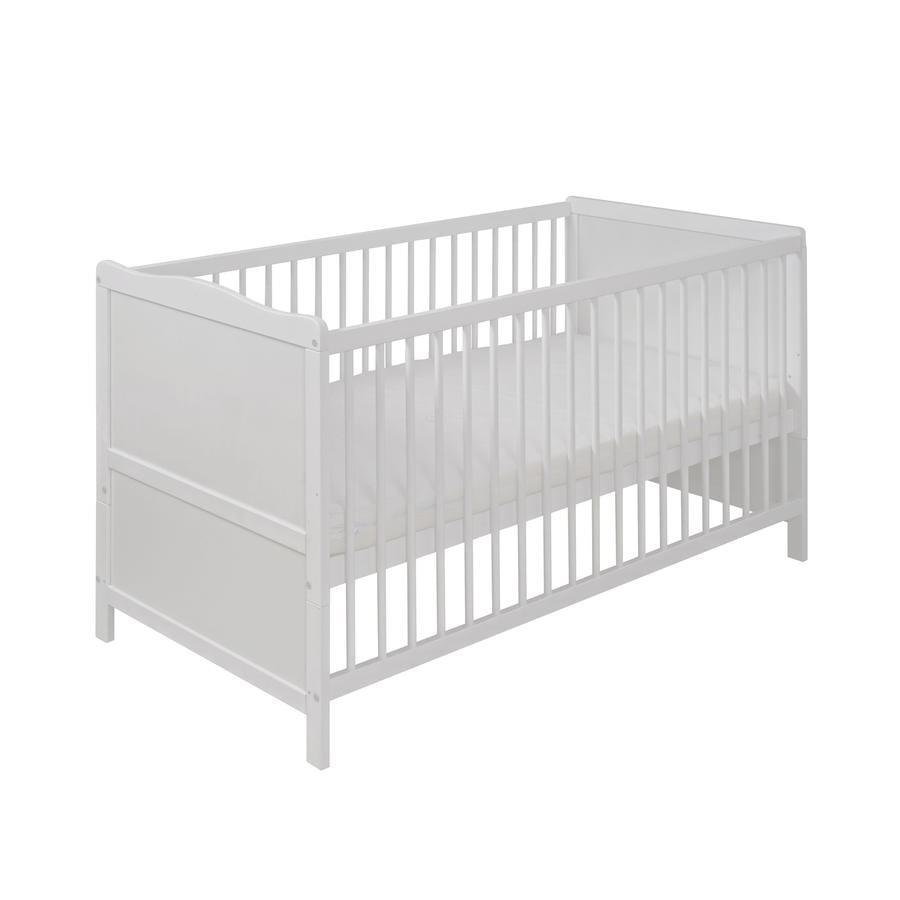 Kinderbett weiß 70x140  Hartmann Kinderbett 70 x 140 cm - babymarkt.de