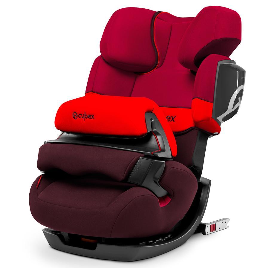 CYBEX SILVER Fotelik samochodowy Pallas 2-fix Rumba Red