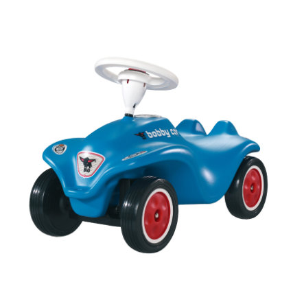 BIG New Bobby Car blauw met fluisterbanden