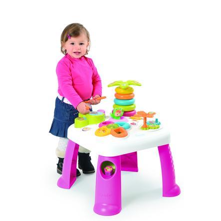 SMOBY Cotoons - Aktivní stolek, růžový