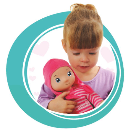 SMOBY Minikiss Puppe Whisper 27 cm