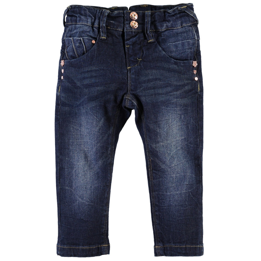 NAME IT Girls Mini Džíny NITRIA dark denim