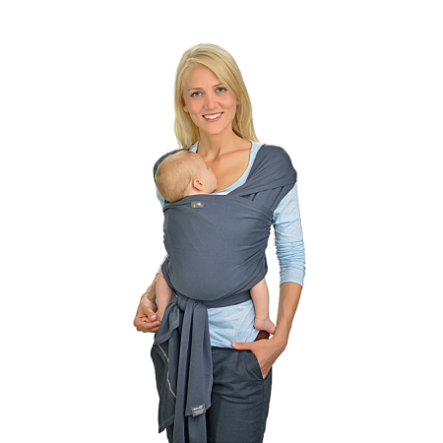 HOPPEDIZ Elastyczna Chusta do noszenia dziecka długa