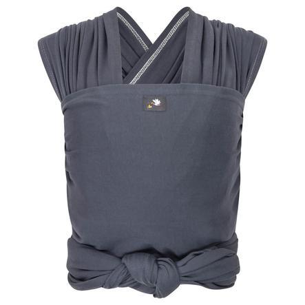 Hoppediz Fascia elastica lunga porta bebè Antracite