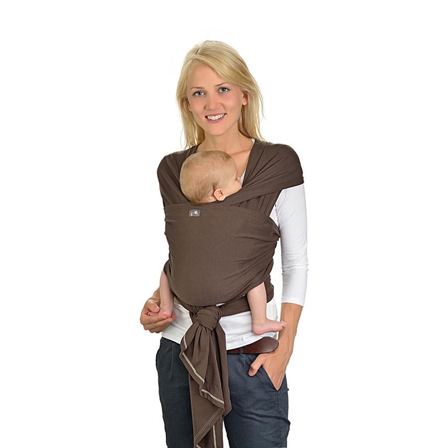 HOPPEDIZ Maxi elastisk bæresjal marone