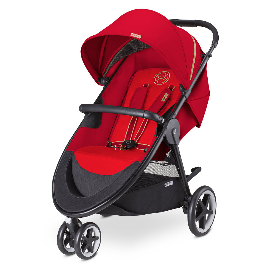 CYBEX GOLD Sittvagn Agis M-Air 3 Hot & Spicy-red