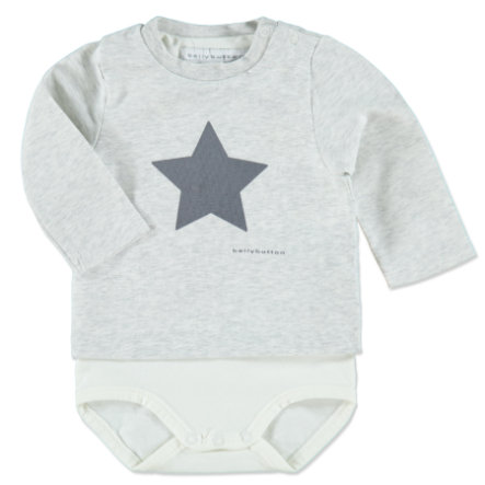 BELLYBUTTON Baby Shirt-Body 1/1 Arm offwhite