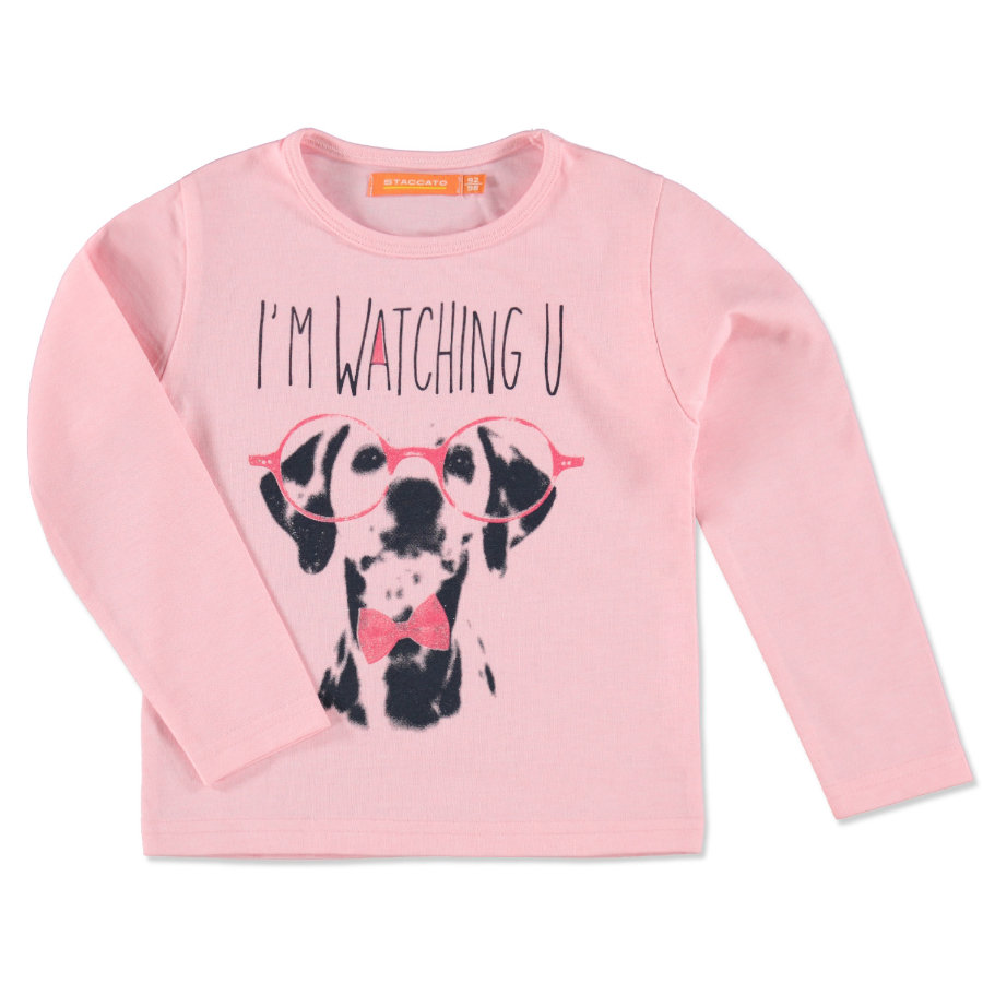 Staccato Girls Kids Longsleeve rose melange