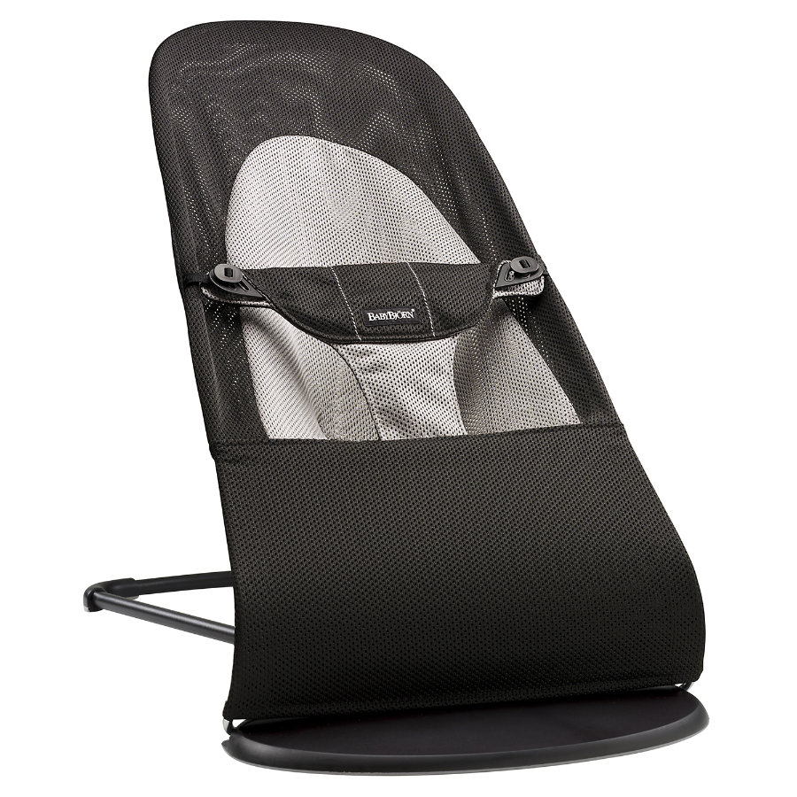 BABYBJÖRN Baby Bouncer Balance Soft Mesh Black/Dark Grey