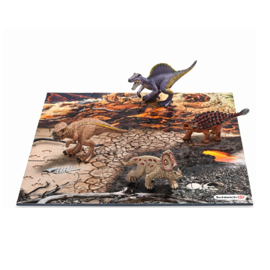 SCHLEICH Ensemble 1 Mini Dinosaures 42212