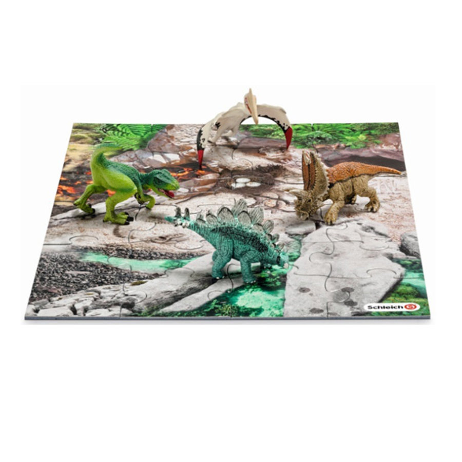 SCHLEICH Ensemble 2 Mini Dinosaures 42212