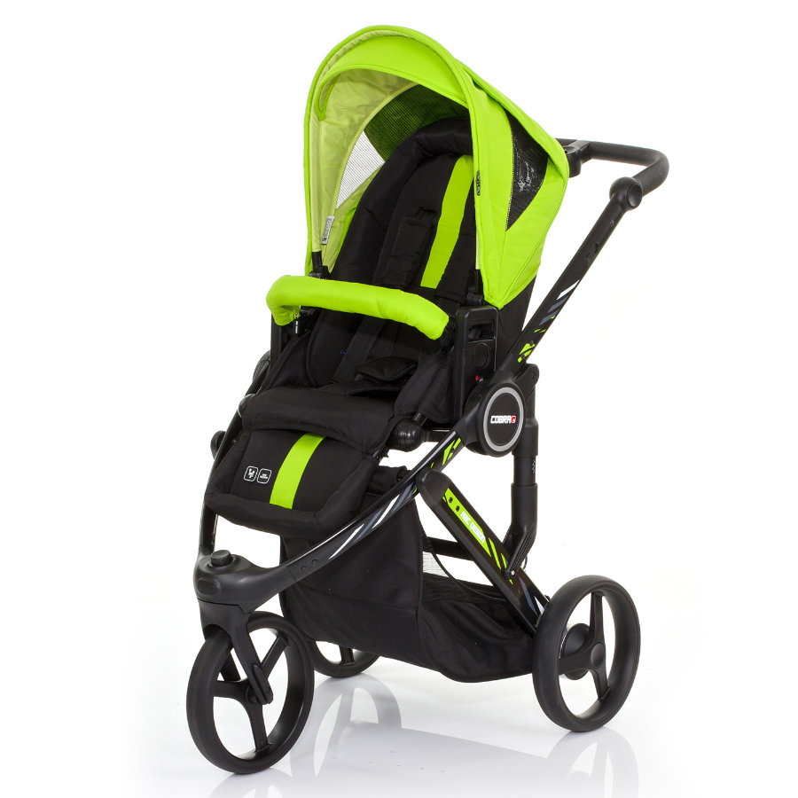 ABC DESIGN Kinderwagen Cobra plus LIME