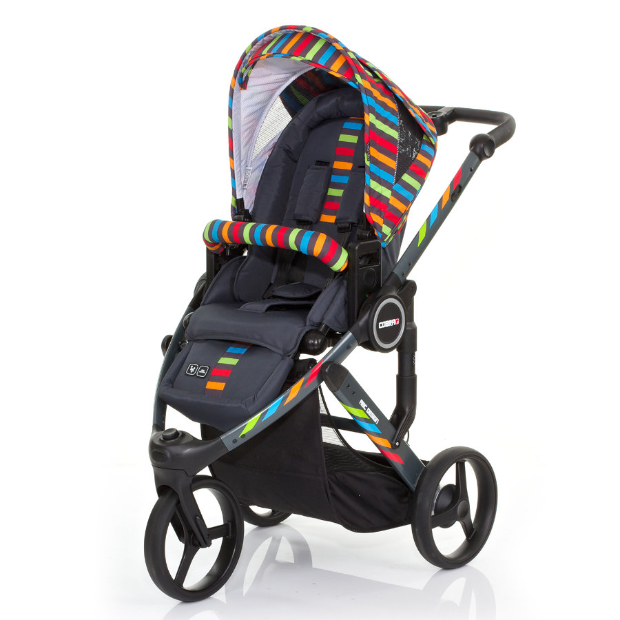 ABC DESIGN Barnvagn Cobra plus RAINBOW Kollektion 2015