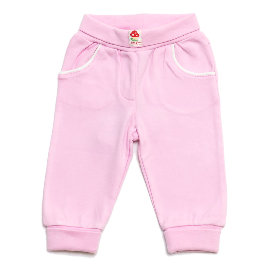 SALT AND PEPPER Baby Glück Girls Mini Sweathose rosé
