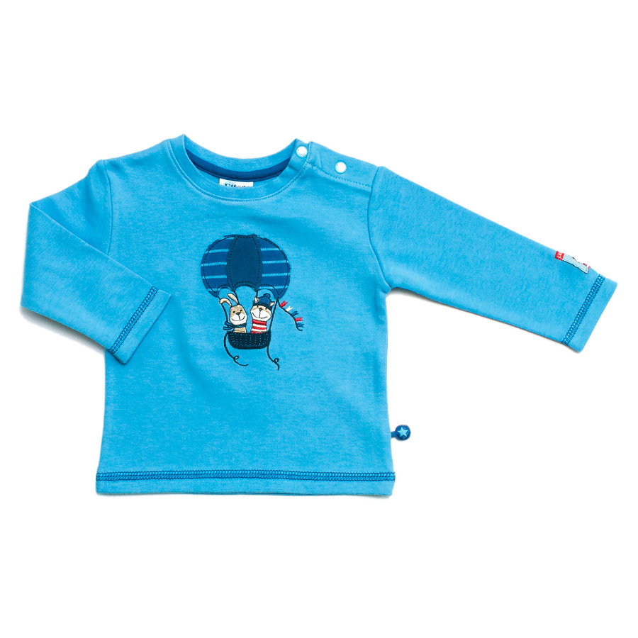 ELTERN by SALT AND PEPPER Boys Baby Bluzka z długim rękawem ocean blue