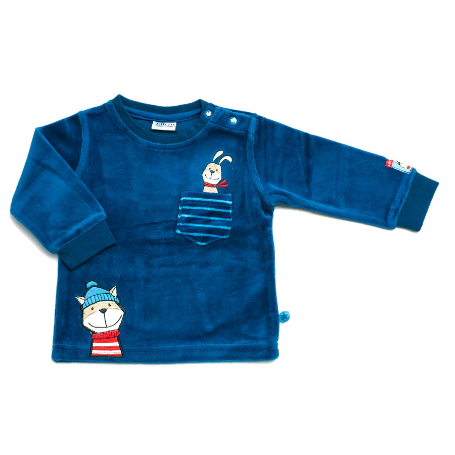 ELTERN by SALT AND PEPPER Boys Baby Bluzka z długim rękawem french blue