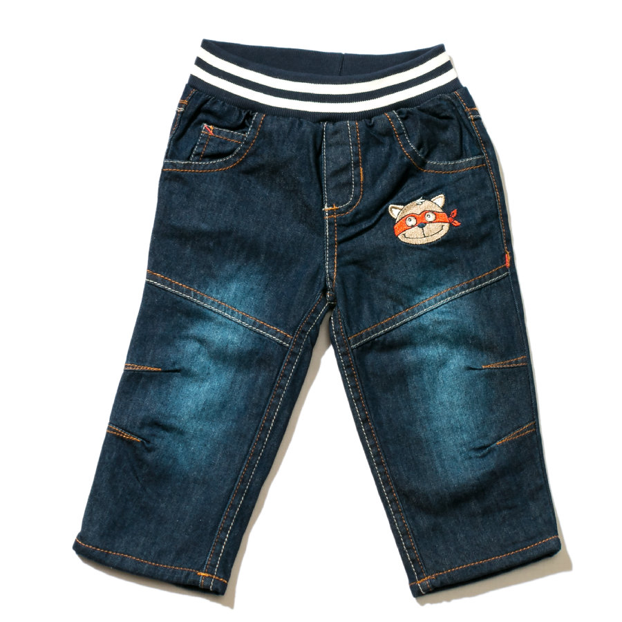 ELTERN by SALT AND PEPPER Boys Mini Spodnie dżinsowe dark blue denim
