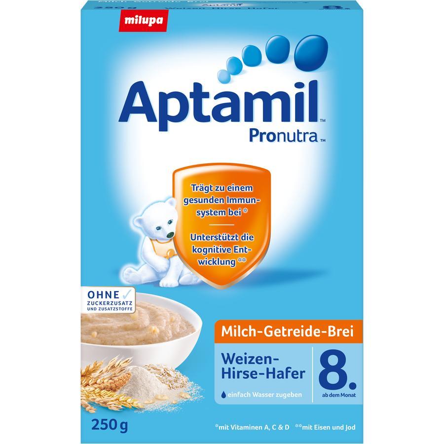 Aptamil Milchbrei Weizen Hirse Hafer 250g