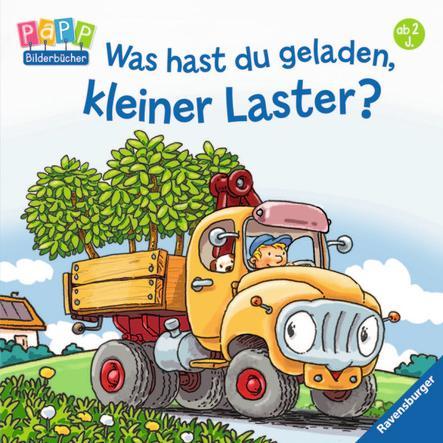 RAVENSBURGER Bilderbuch - Was hast du geladen, kleiner Laster?