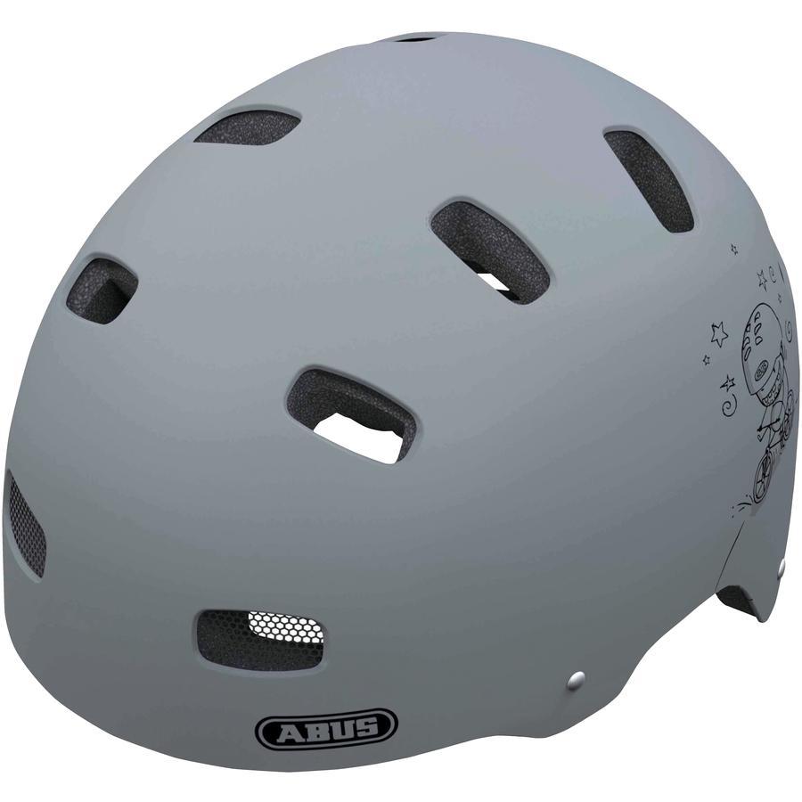 ABUS Kinderhelm Scraper Kid v.2 Grey ride Größe S 48 bis 55 cm