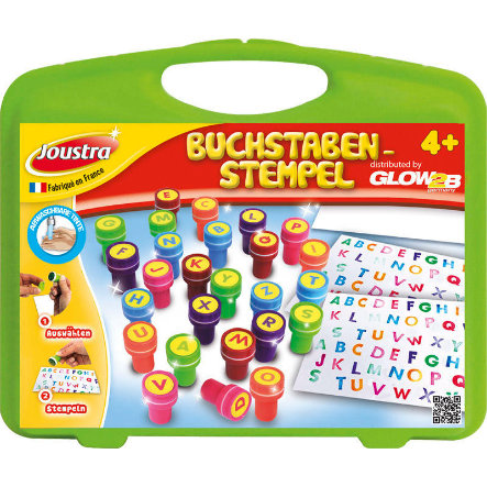 GLOW2B ABC Stempels