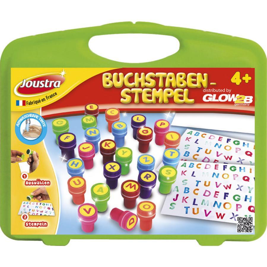 GLOW2B ABC Stempel