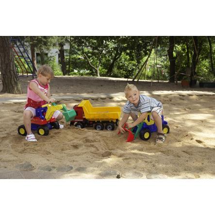 LENA® Starke Riesen XXL Muldenkipper Modell Actros, 63 cm