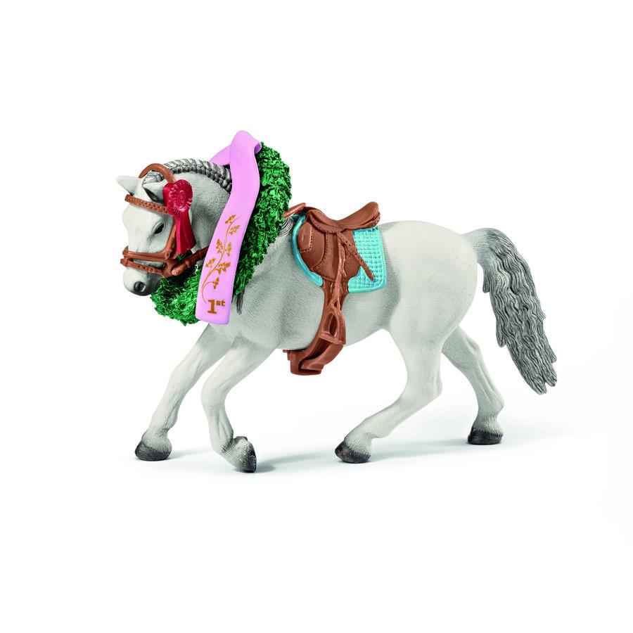SCHLEICH Set pro vítězné koně - věnec, kokardy 42199