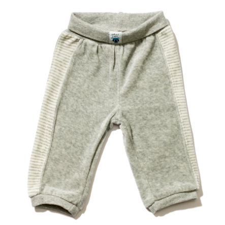 SALT AND PEPPER Boys Baby Spodnie plusz grey