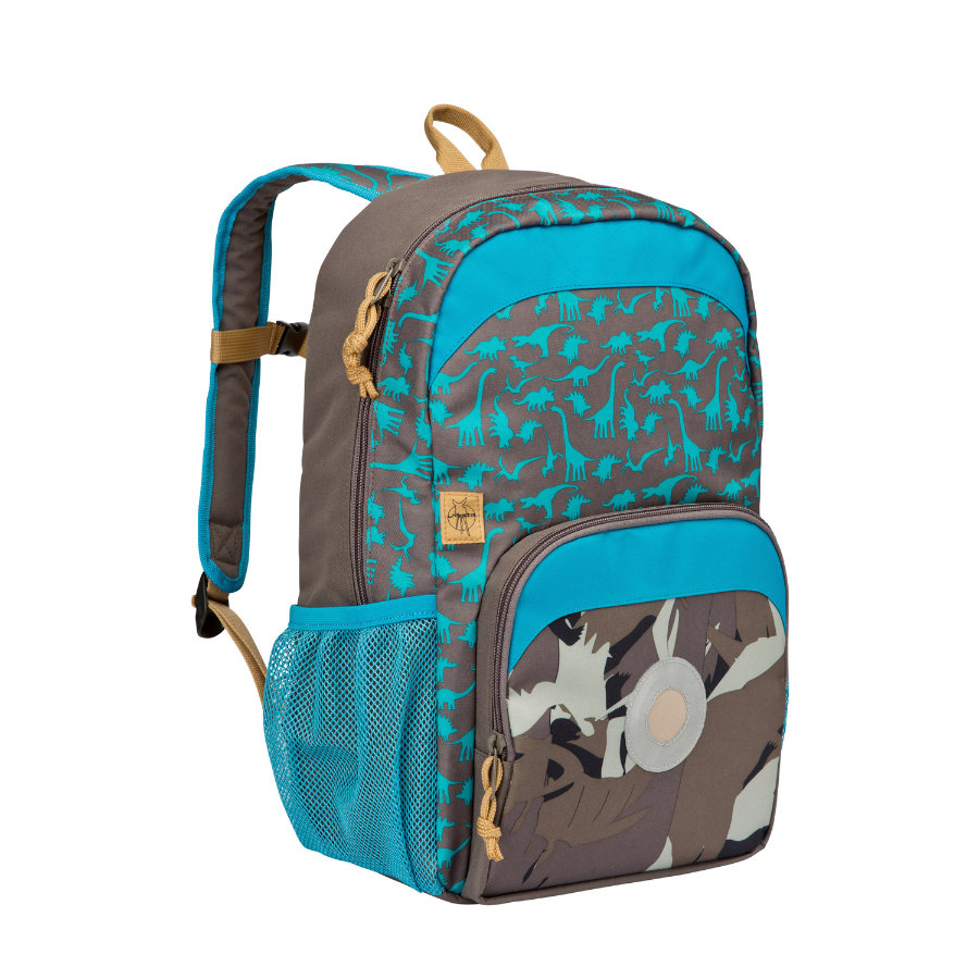 LÄSSIG 4Kids Mini Backpack Big Dino slate