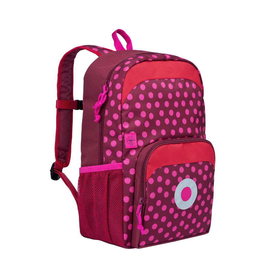 LÄSSIG Plecak termoizaolacyjny 4Kids Mini Backpack Big Dottie red