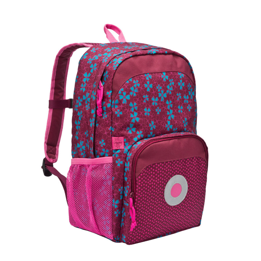 LÄSSIG 4Kids Mini Backpack Big Blossy pink