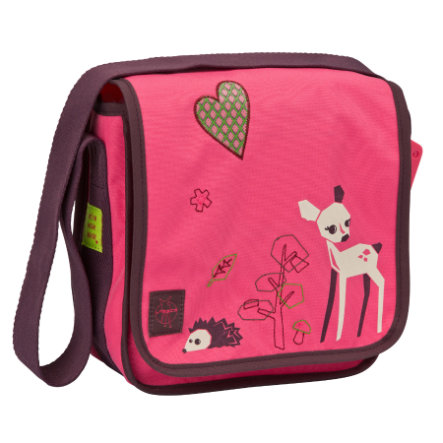 LÄSSIG Torba na ramię 4Kids Mini Messenger Bag Little Tree - Fawn