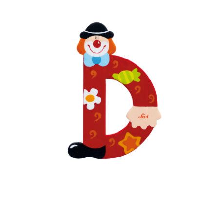 SEVI Clown Buchstabe D