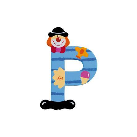 SEVI písmenko klaun P