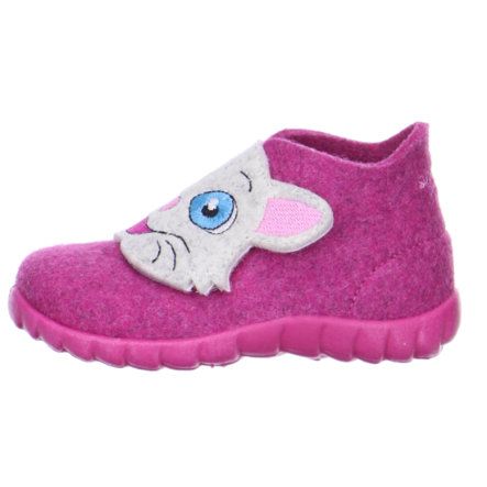 SUPERFIT Girls Pantofole bambina GATTO fuchsia