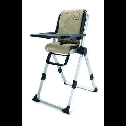 CONCORD Jídelní židlička Spin Almond Beige