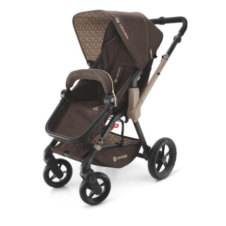CONCORD Kinderwagen Wanderer, Chocolate Brown