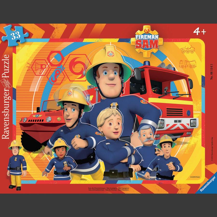 Ravensburger Frame puzzle - Sam, brannmannen